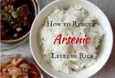 How To Reduce Arsenic Levels In Rice
