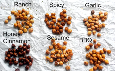 Two KEYS To Crunchy Roasted Chick Peas! [Healthy Recipe]