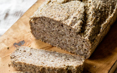 Homemade Buckwheat Chia Seed Bread