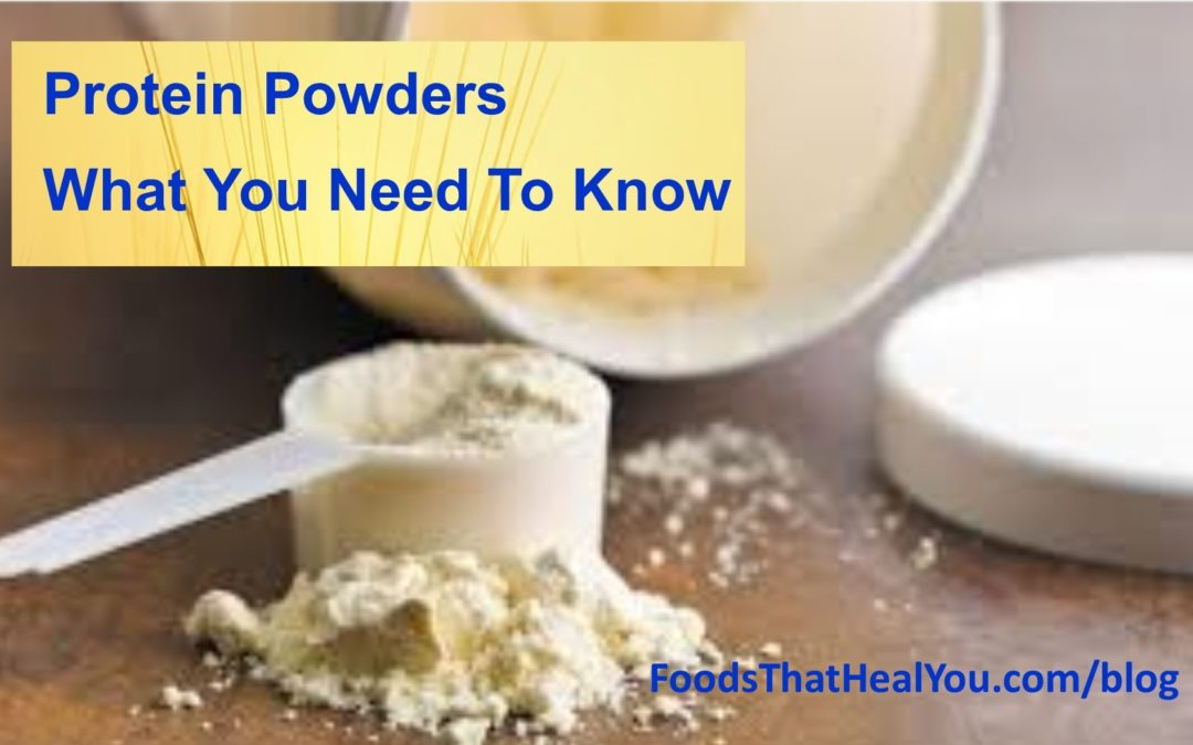 Are Protein Powders Healthy?
