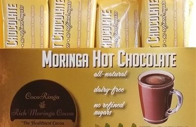 Looking for a delicious AND healthy hot cocoa? Look no further!