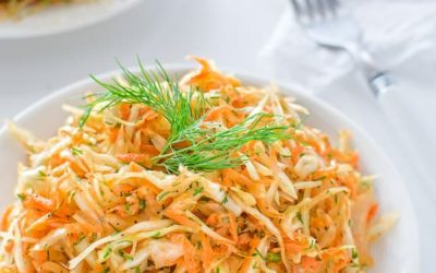 Cooked Carrot-Cabbage Slaw Recipe | Healthy and Simple!